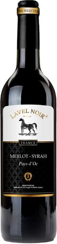 MERLOT 2017 Lavel Noir 0,75L  FRANCE  _